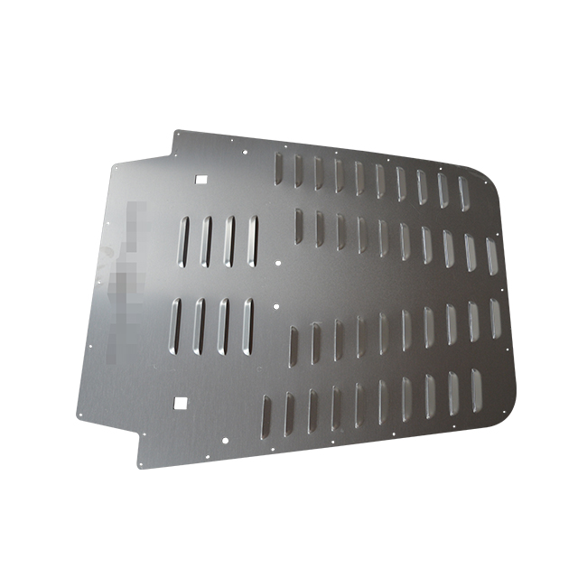 Hood Louver (Silver & Black) for Jeep Wrangler JK