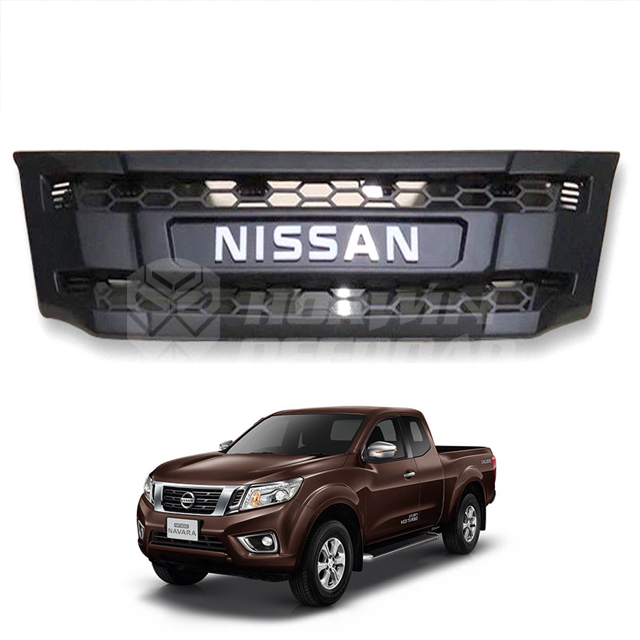 Navara Np300 Grille Without Led Black
