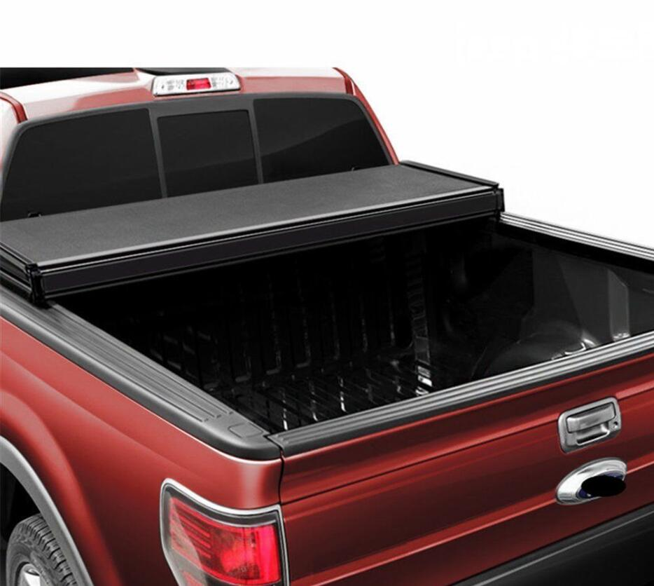 Tri-fold Hard Tonneau Cover for FORD F150 04-18 6.5'' Bed