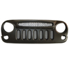 Grille with mesh for Jeep Wrangler JK