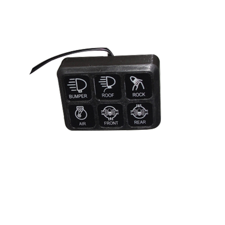 Universal Switch Control system for Jeep Wrangler JK