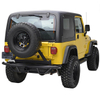 87-06 Jeep Wrangler YJ/TJ Rock Crawler Tubular Rear Bumper with Tire Carrier for Jeep Wrangler TJ