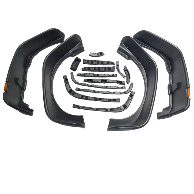 Flat Style Fender Flare Front And Rear for Jeep Wrangler JK