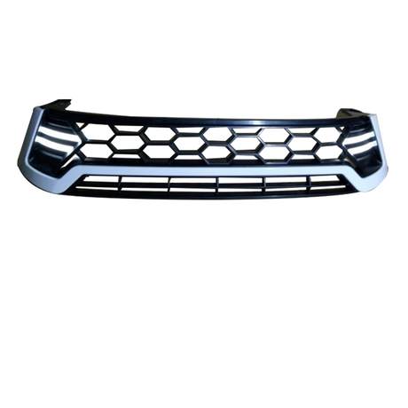 Billet Grill with LED (White/Red/Chromed) for Hilux Revo