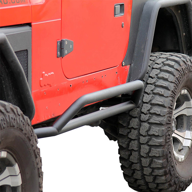 87-06 Jeep Wrangler YJ/TJ Rocker Guards for Jeep Wrangler TJ