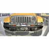10th anniversary front bumper with winch plate and hook ( Modified Version) for Jeep Wrangler JK