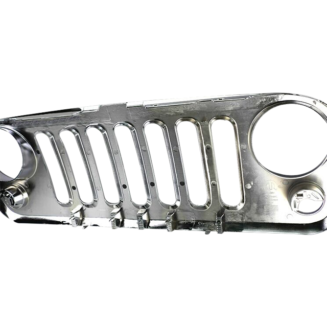 Chrome Front Grille (pc) for Jeep Wrangler JK