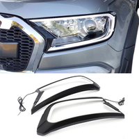 Headlamp Cover With LED Light For Ford Ranger 2015-2020