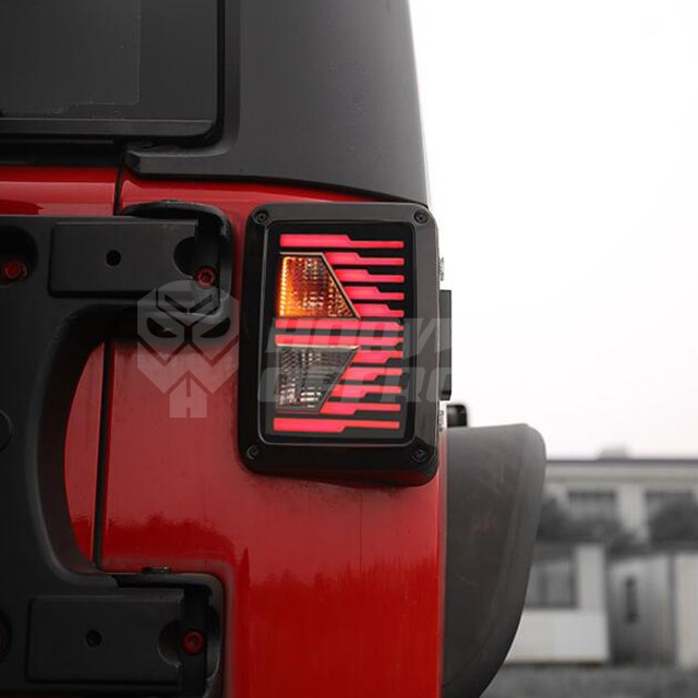 New Tail Lights for Jeep Wrangler JK