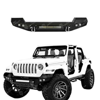 JL Front Bumper( Led Bar optional) for Jeep Wrangler JL