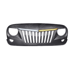Grill with Led Lights For Jeep Wrangler JK