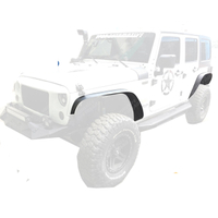 Fender Flares (Steel) Front And Rear for Jeep Wrangler JK